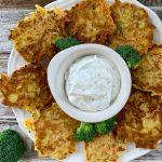Cotolette di gambo di broccolo e carote