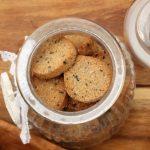Biscotti di grano saraceno e sesamo. Senza glutine.