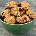 Biscotti di avena senza glutine, lattosio, uova e zucchero