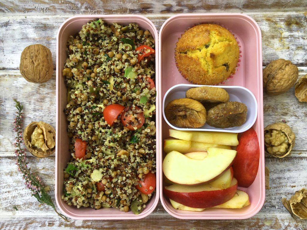 schiscetta lunch box insalata di quinoa